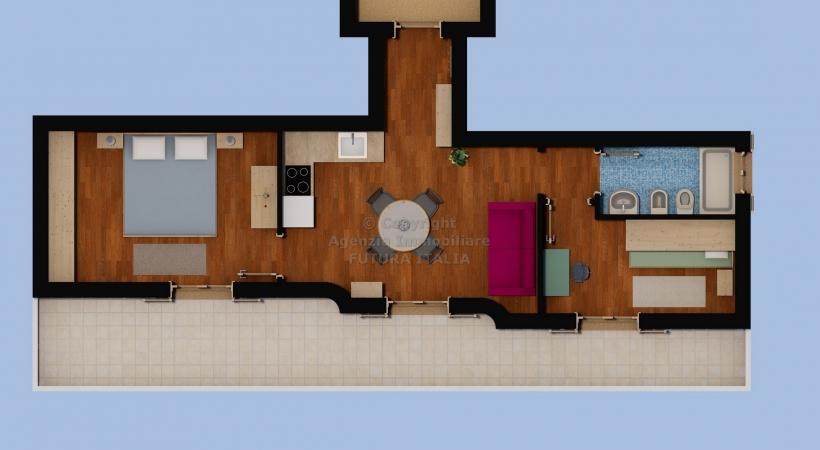Rif. Domus Solaria - Terme Vigliatore - Nuovissimo appartamento in VENDITA