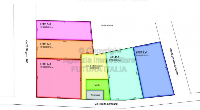 Rif. 380 - Terme Vigliatore - Lotti terreno edificabile in VENDITA