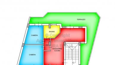 Rif. Madama | P.2 - Terme Vigliatore - Appartamento in villa, nuovissima costruzione in VENDITA