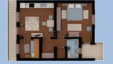 Rif. 431 - Messina - Appartamento 3 vani in VENDITA