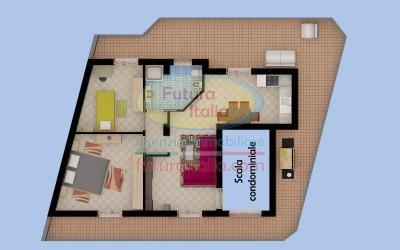 Rif. Madama | P.2 | Terme V. | Appartamento in villa, nuovissima costruzione