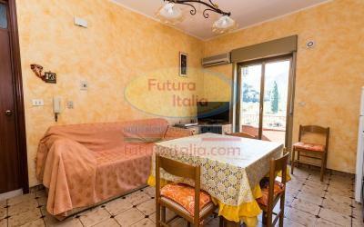 Rif. 497 | Oliveri | Appartamento bivano con balcone e terrazzo